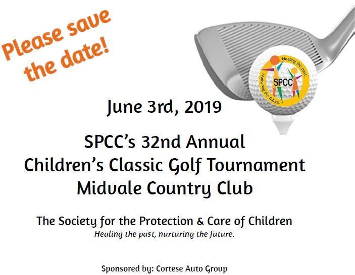 Save the date SPCC Golf Tournament