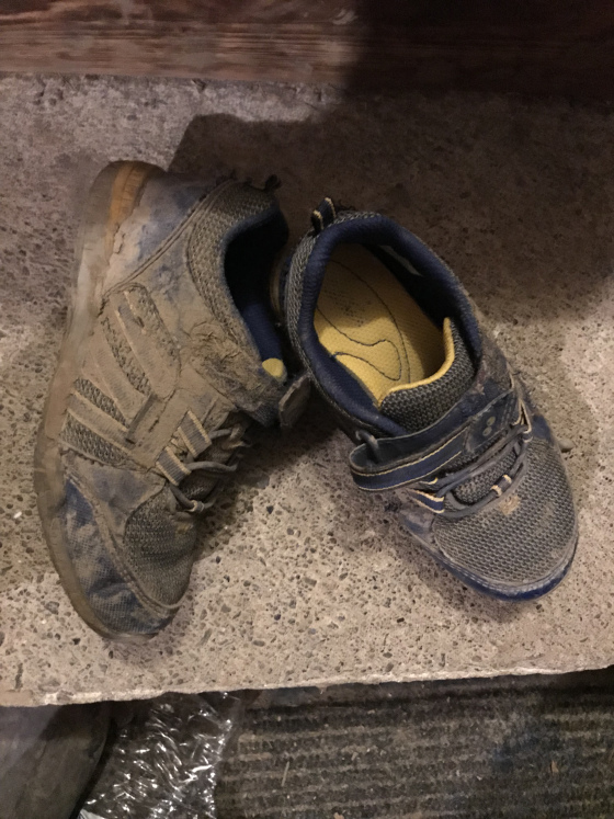 Dirty Sneakers