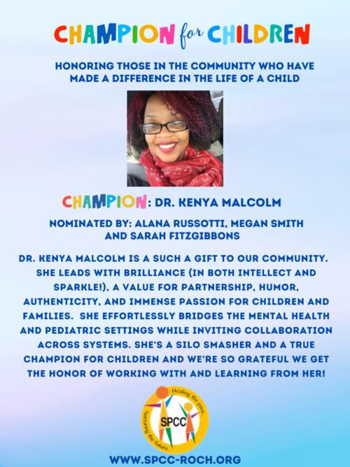 Champions for Children - Kenya Malcolm