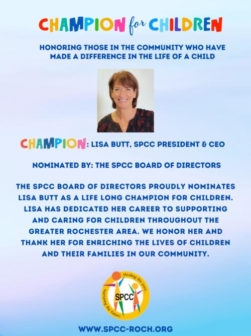 Champions for Children - Lisa Butt