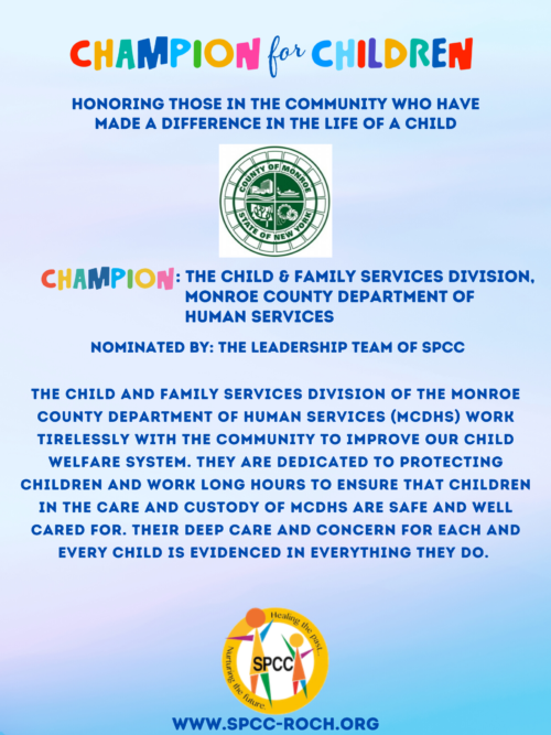 Champions for Children - MCDHS