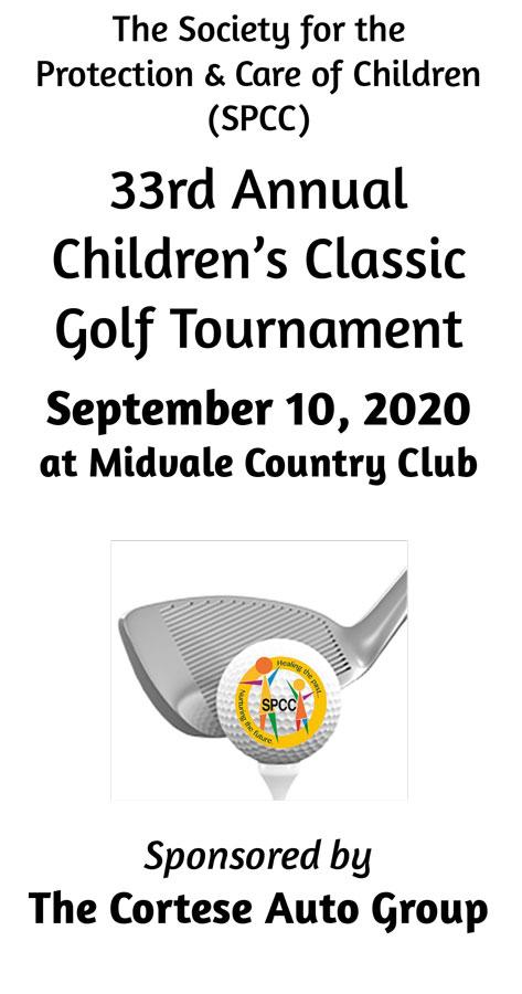 SPCC 33rd Annual Children's Classic Golf Tournament