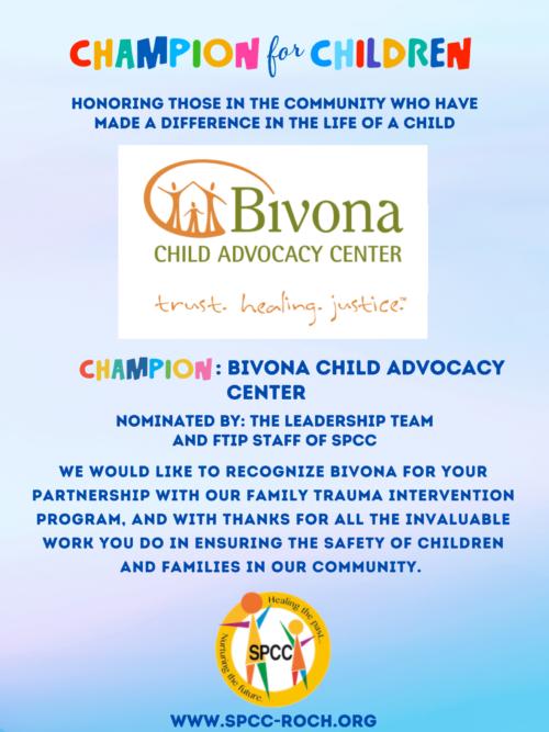 Champions for Children - Bivona