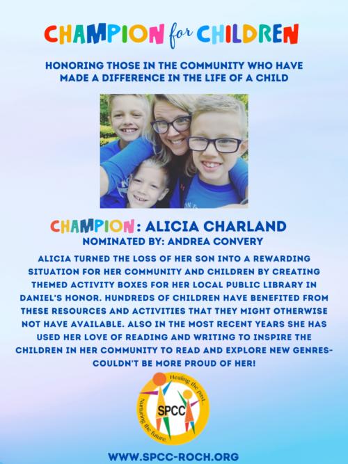 Champions for Children - Alicia Charland