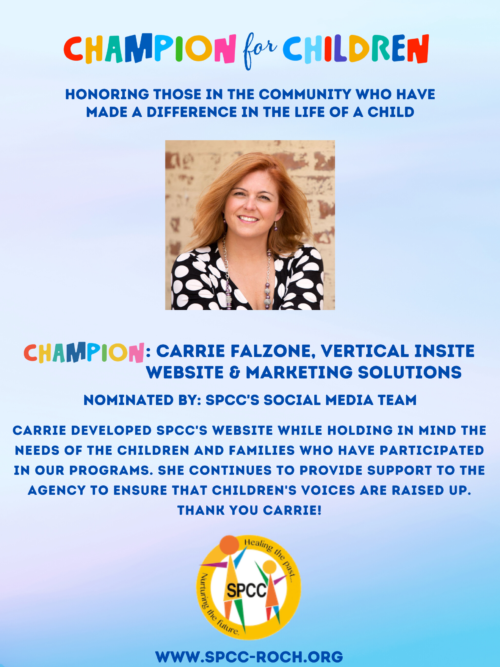 Champions for Children - Carrie Falzone