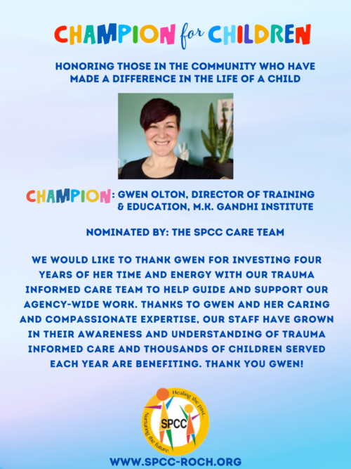 Champions for Children - Gwen Olton