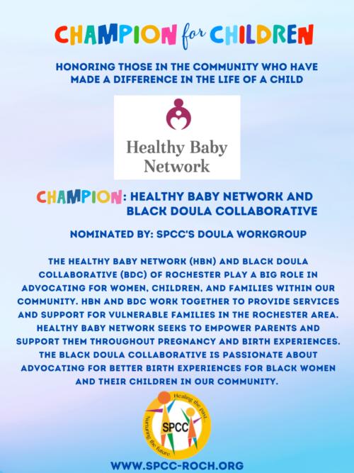 Champions for Children - HBN