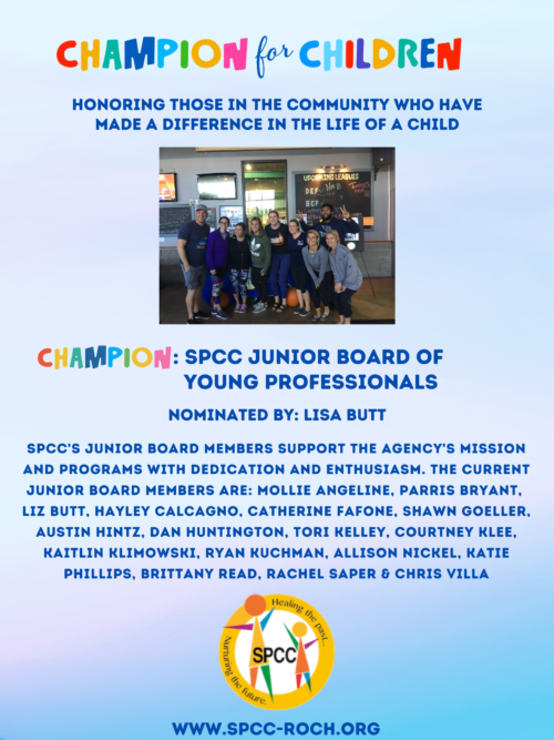 Champions for Children - Jr Board
